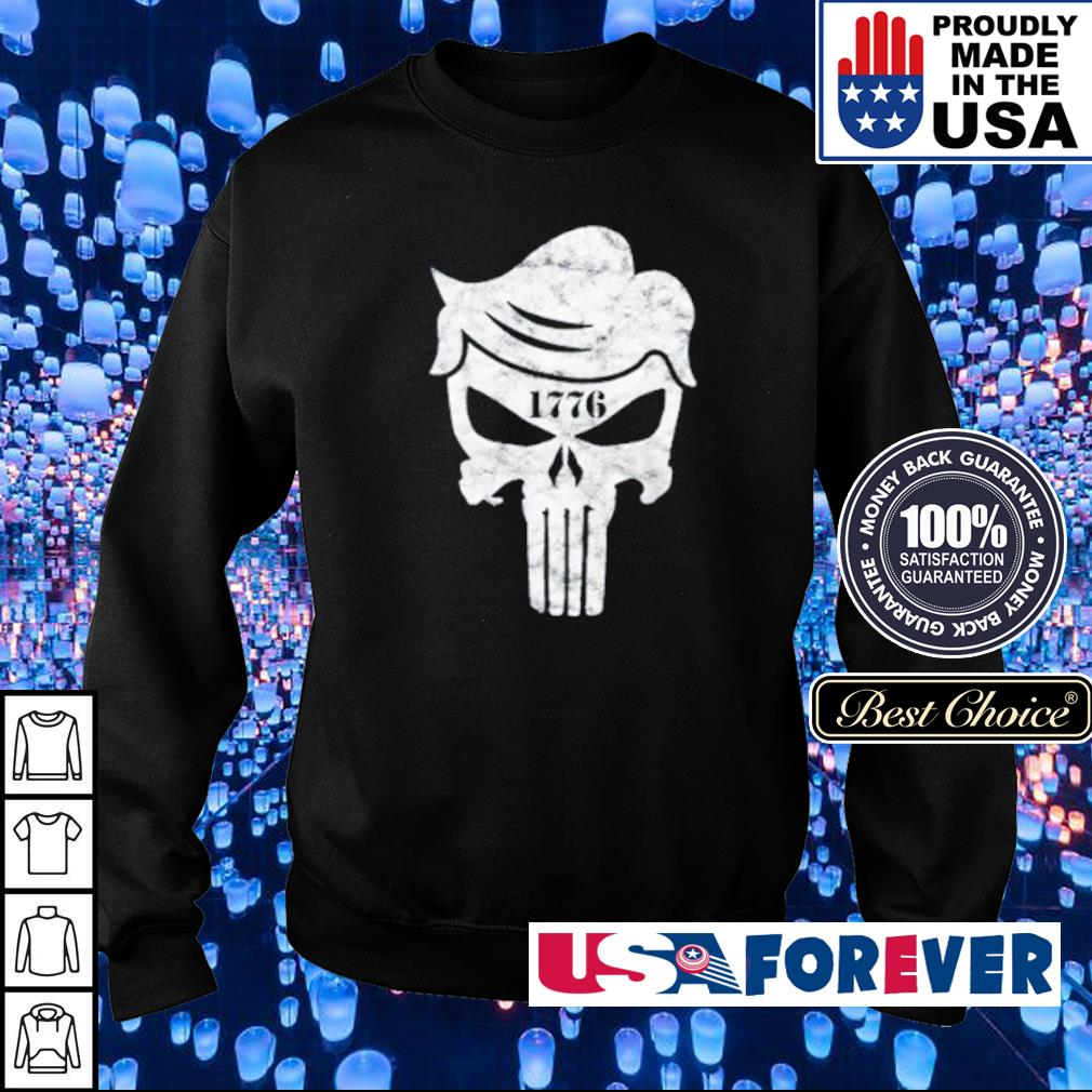 Official Skull The Punisher 1776 s sweater