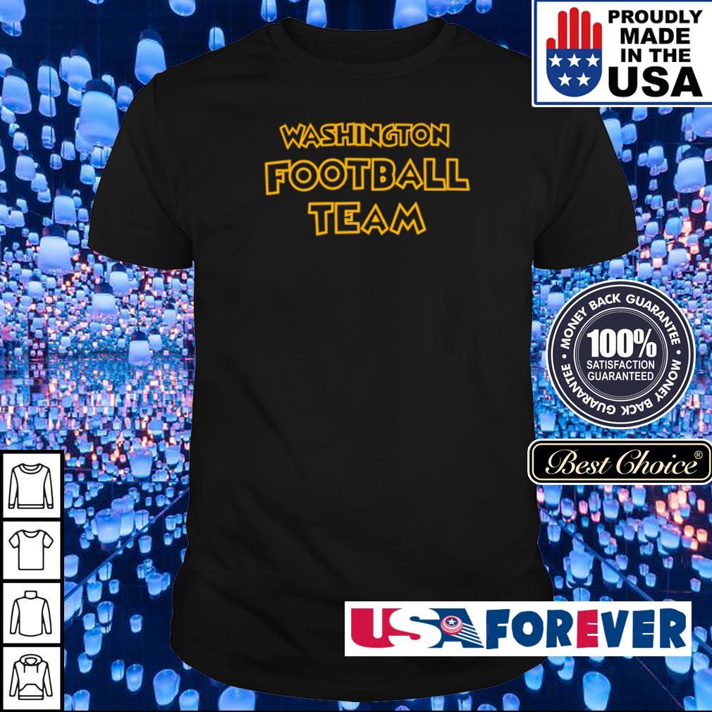Official Washington Footbal Team shirt