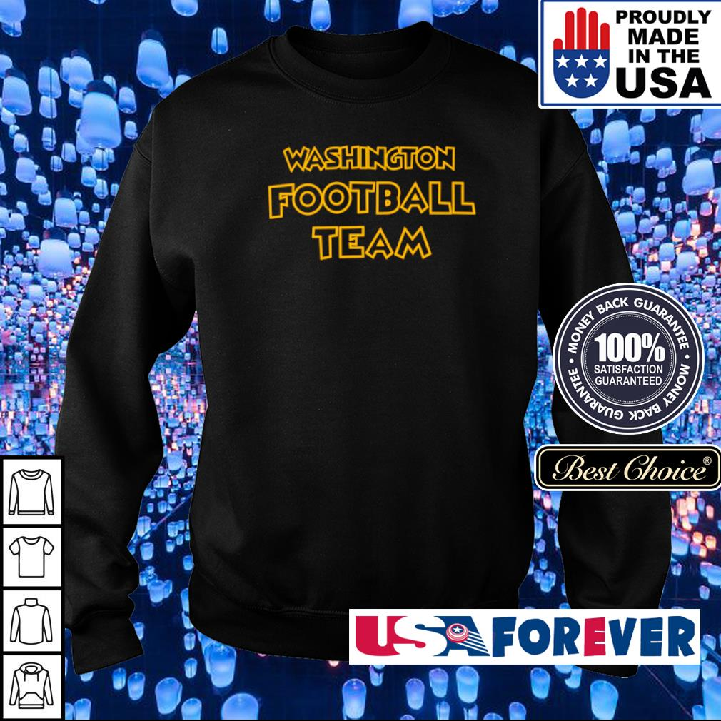 Official Washington Footbal Team s sweater