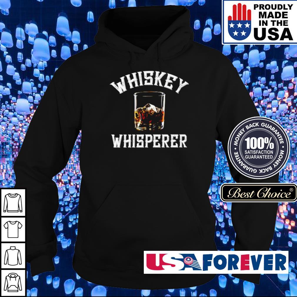 Official Whiskey Whisperer s hoodie