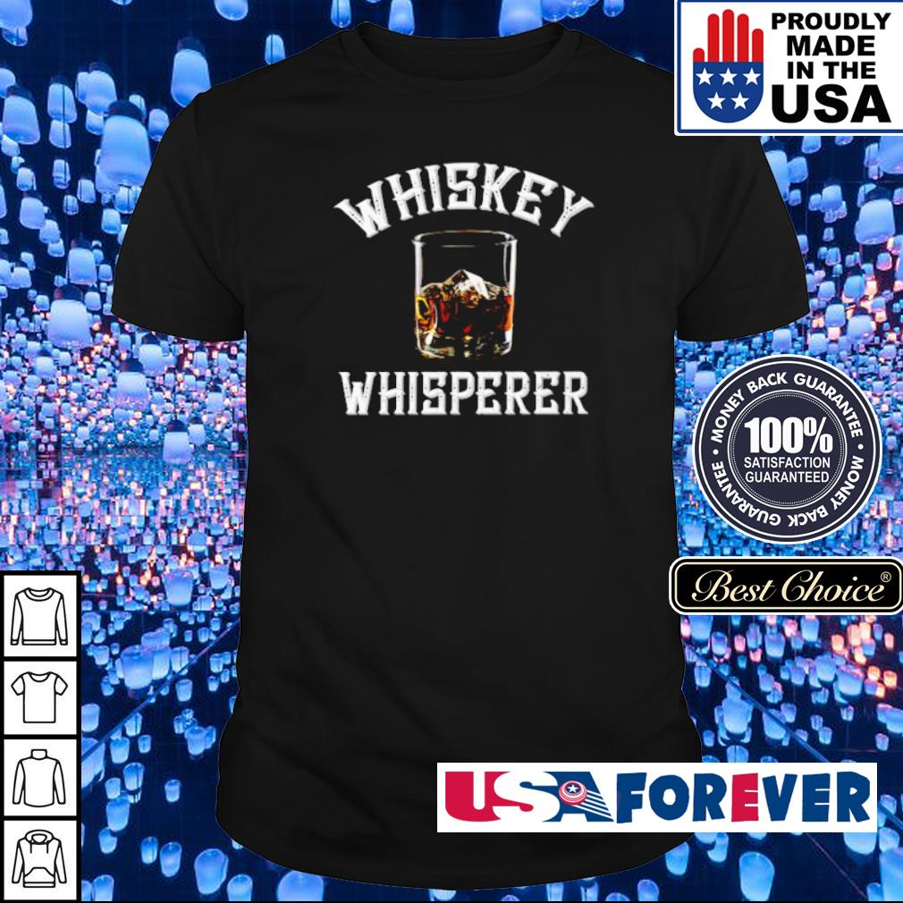 Official Whiskey Whisperer shirt