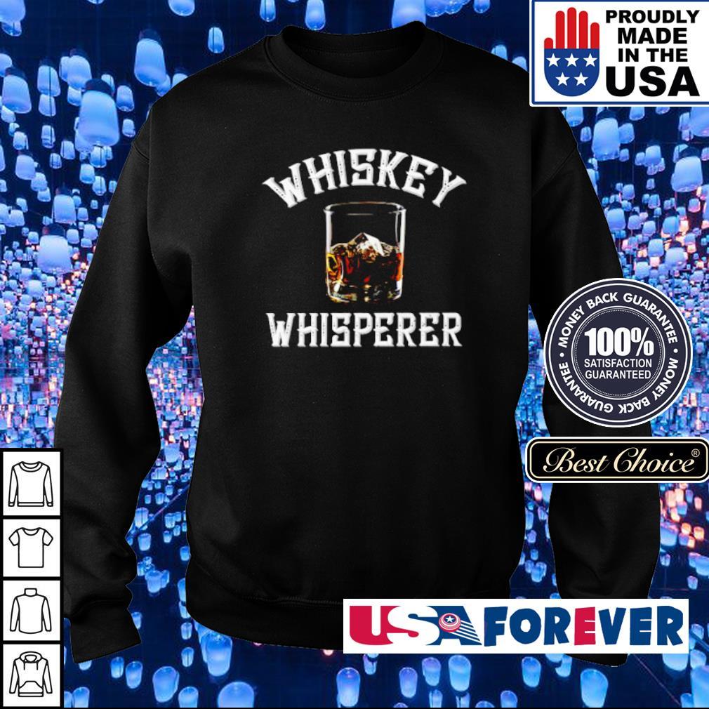 Official Whiskey Whisperer s sweater