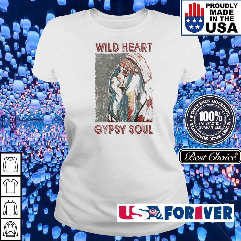 Official wild heart gypsy soul s ladies