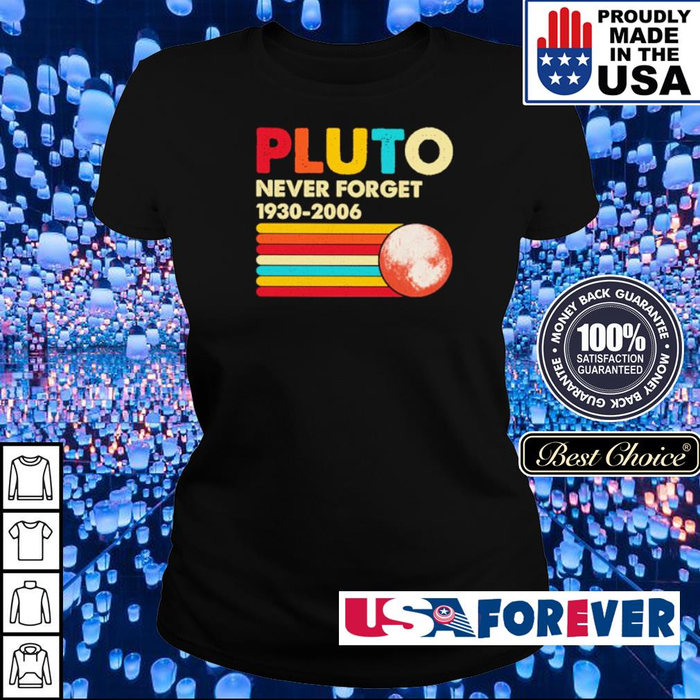 Pluto never forget 1930-2006 s ladies