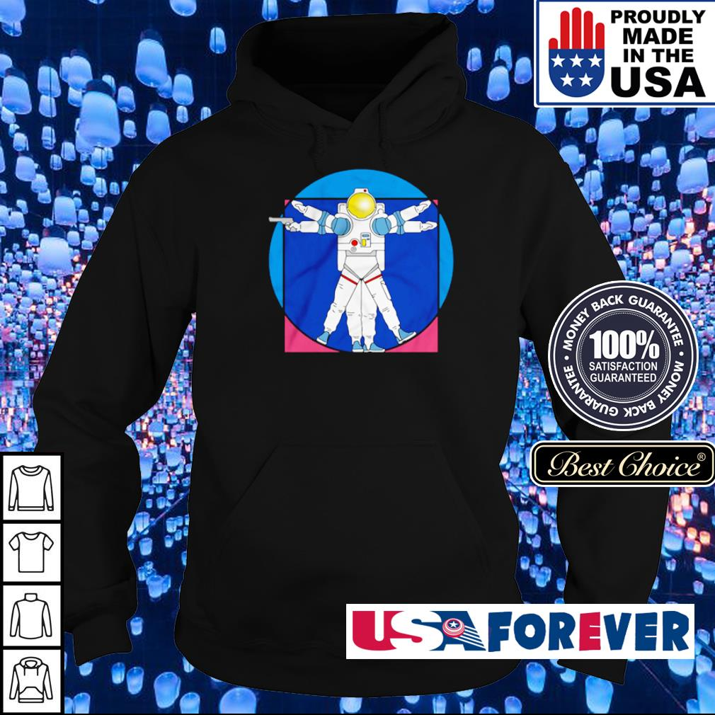Policenaut's logo Space Police s hoodie