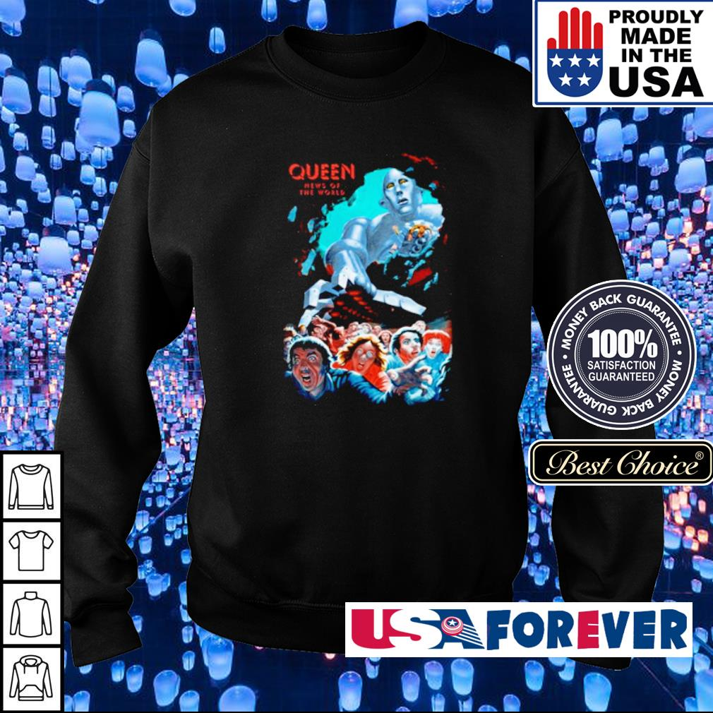 Queen news of the world s sweater