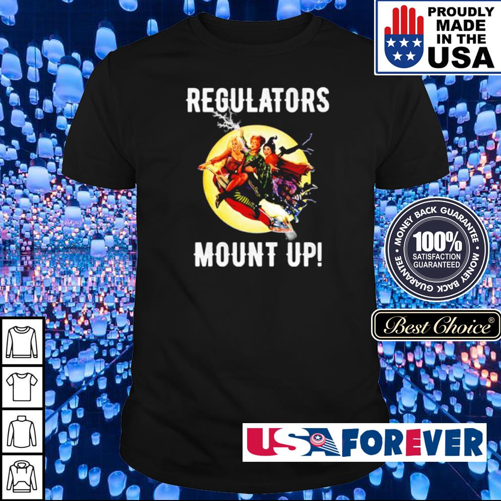 Regulators mouth up Hocus Pocus shirt