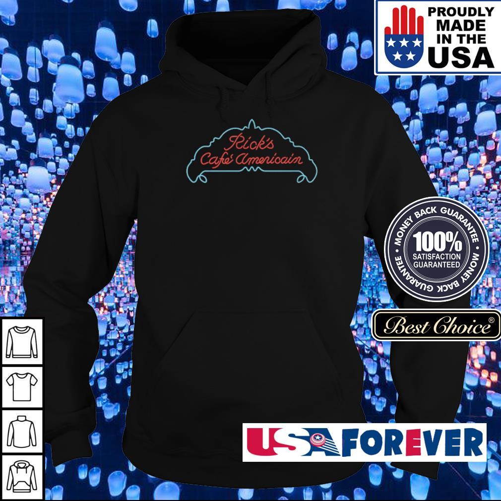 Ricks cafe Americain Casablanca s hoodie