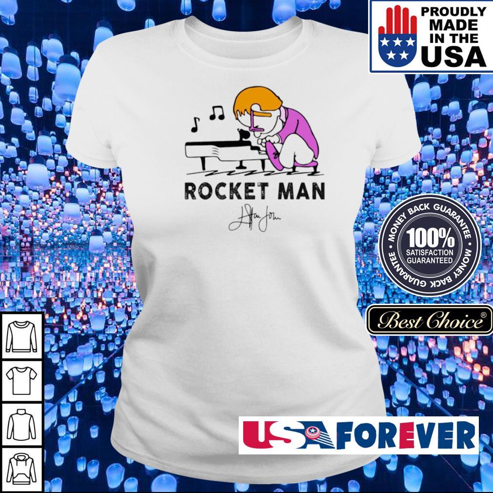 Rocket Man Elton John Play Piano s ladies