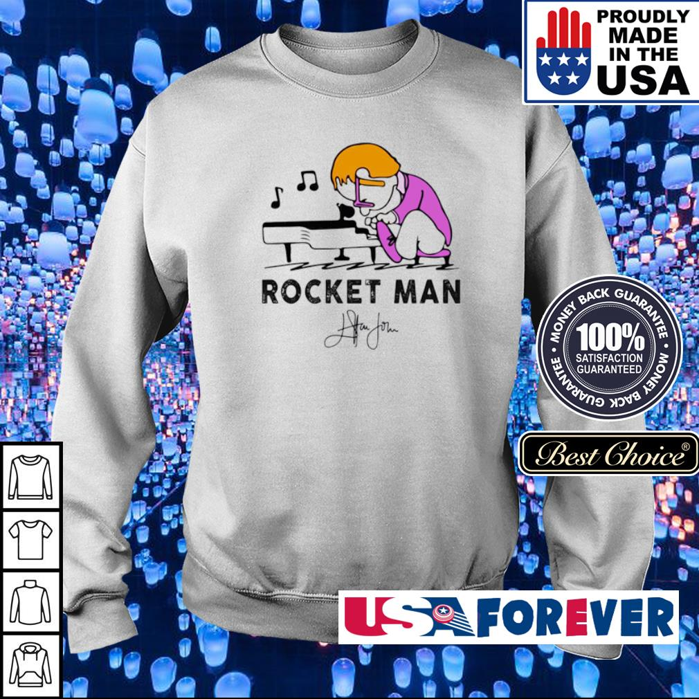 Rocket Man Elton John Play Piano s sweater