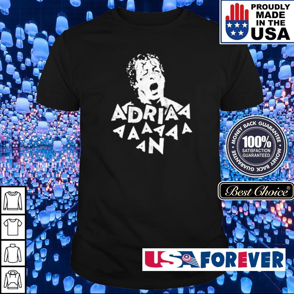 Rocky Balboa Adriaaaaaan shirt