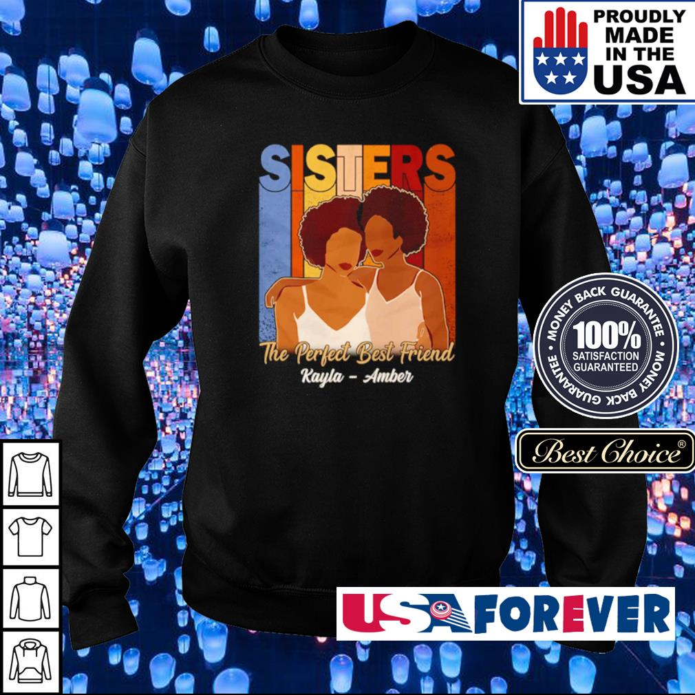 Sisters the perfect best friends Rayla - Amber s sweater