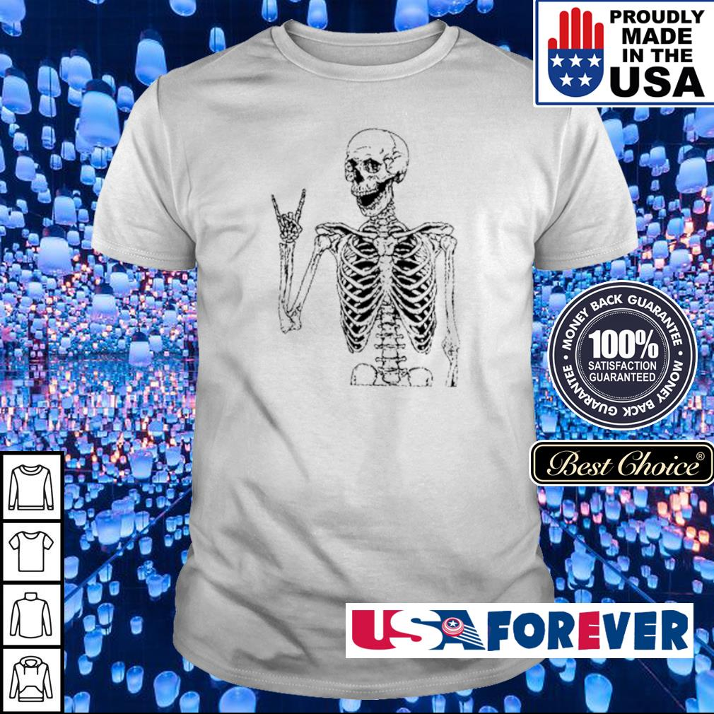 Skeleton Rock N' Roll shirt