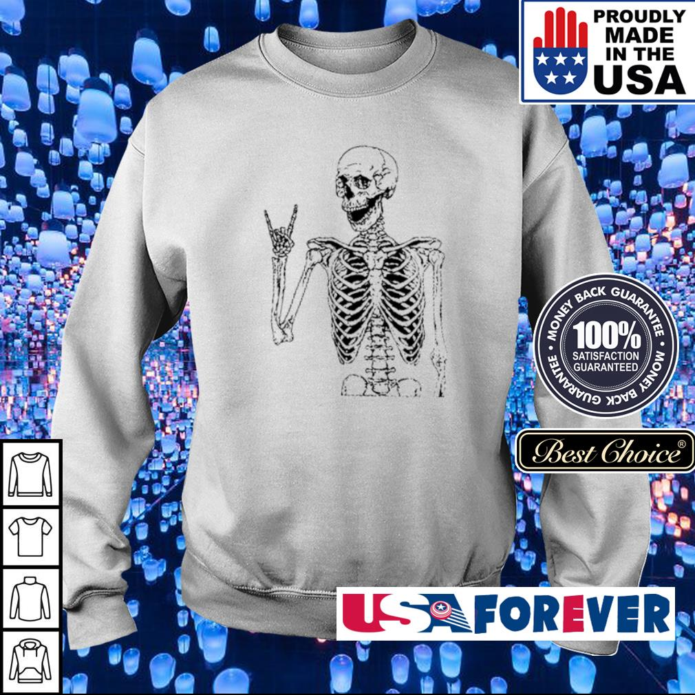 Skeleton Rock N' Roll s sweater