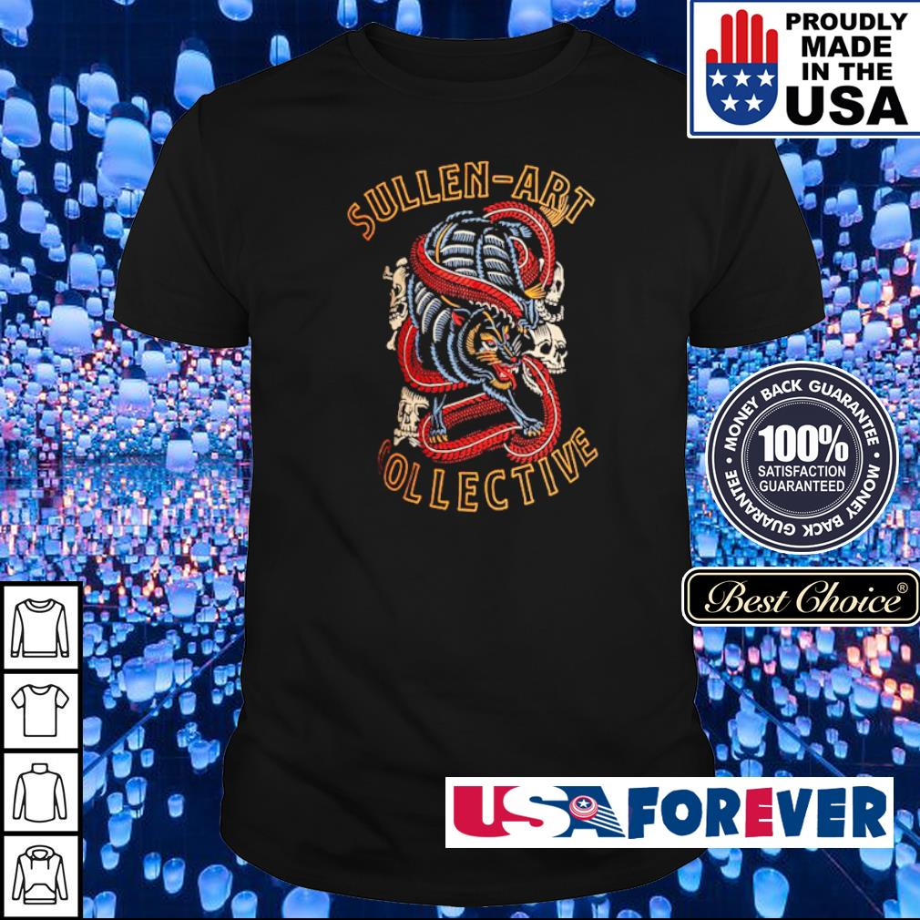 Skull Demon Panther Sullen Art Collective shirt