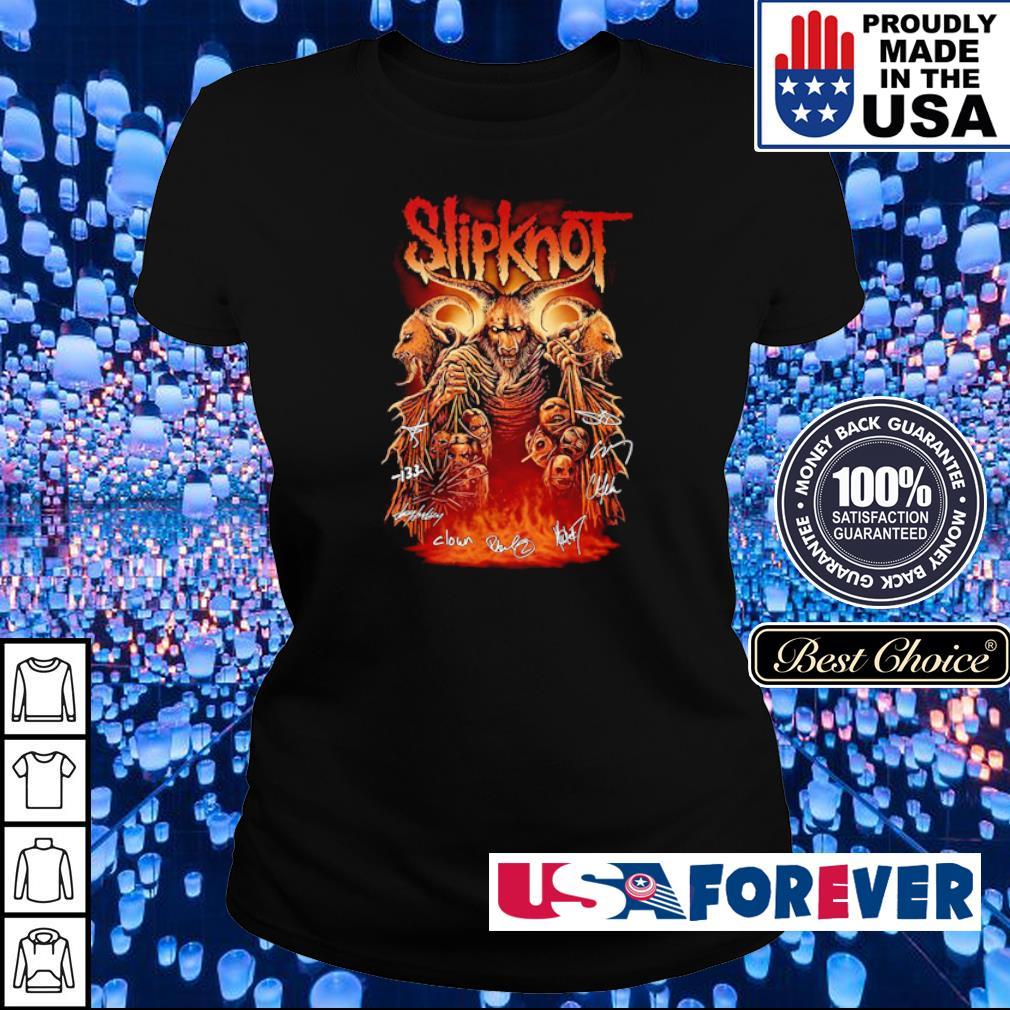 SlipKnot team band's signatures s ladies