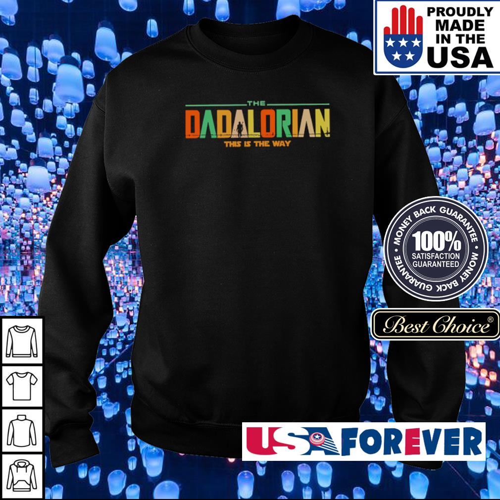 Star Wars Dadlarioan this is the way s sweater