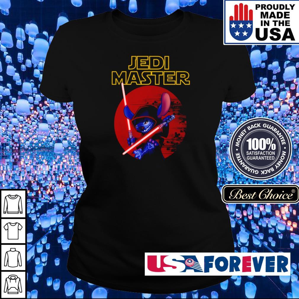 Stitch Jedi Master s ladies
