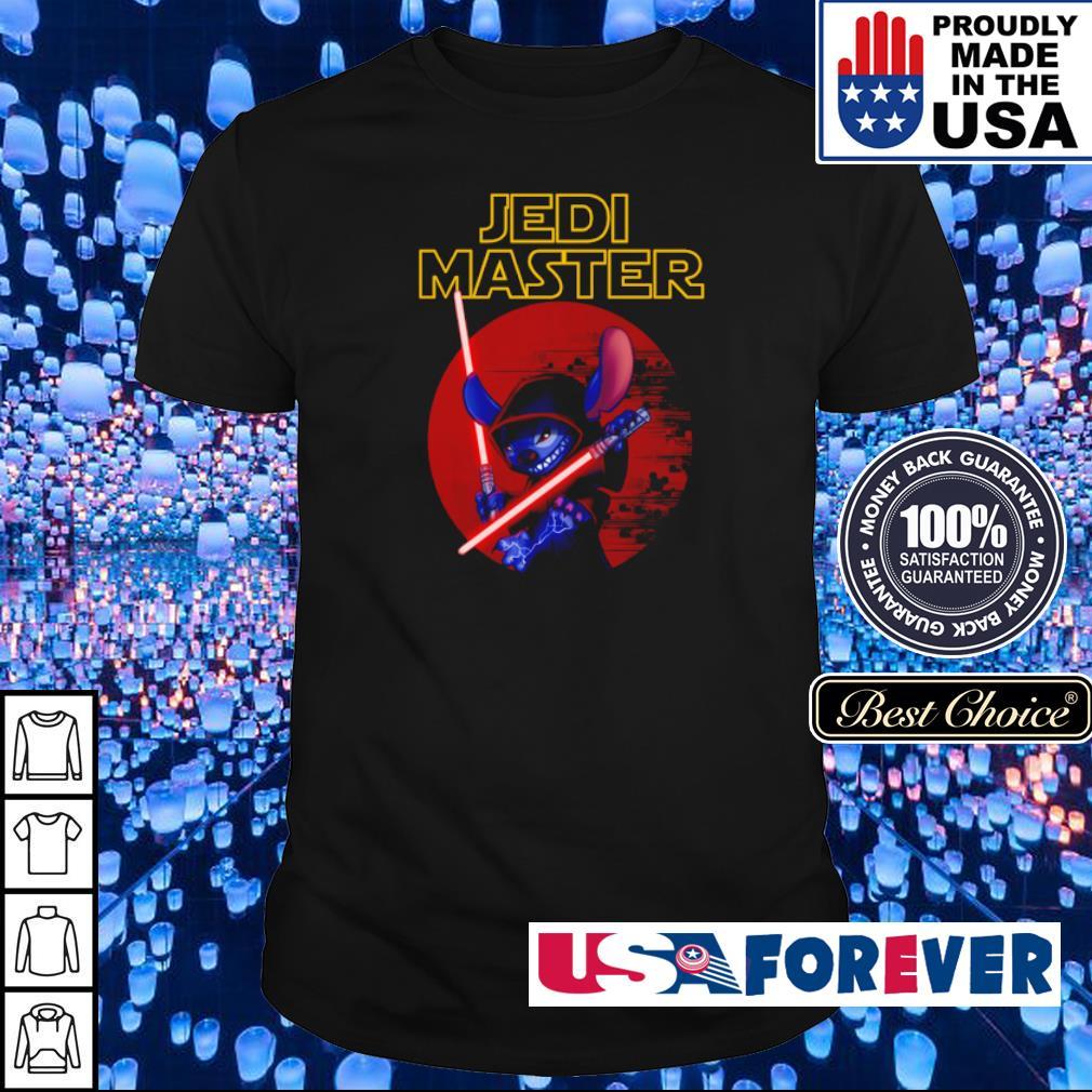 Stitch Jedi Master shirt