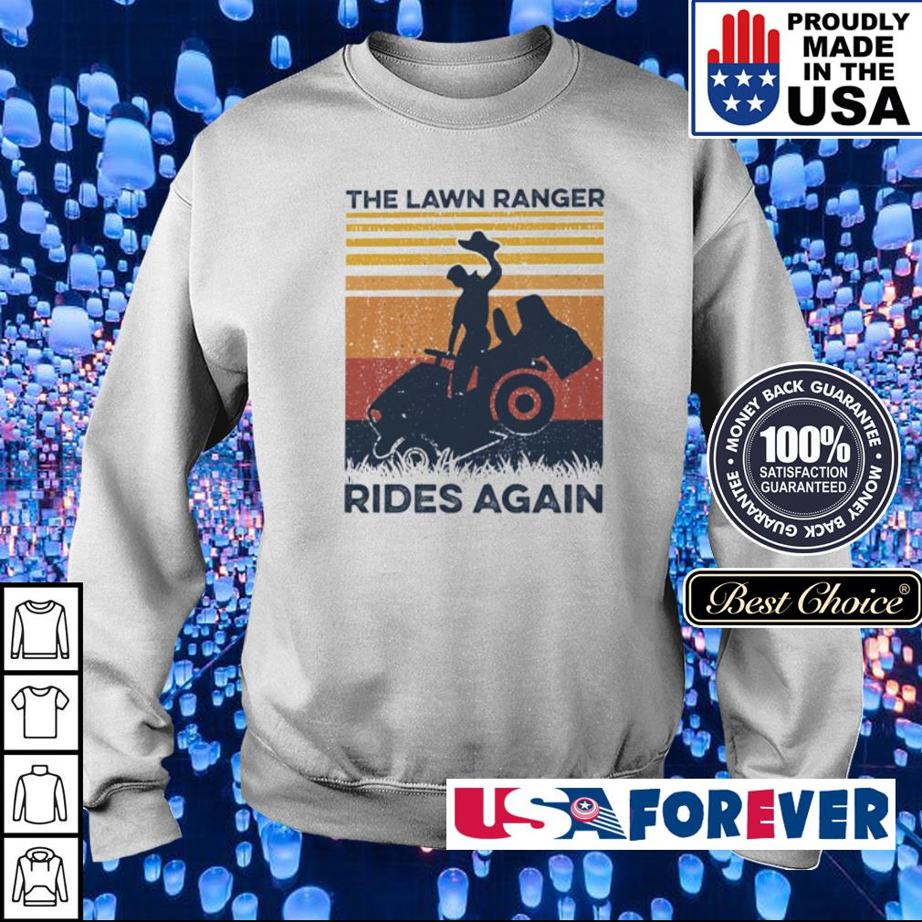 The lawn ranger rides again vintage s sweater
