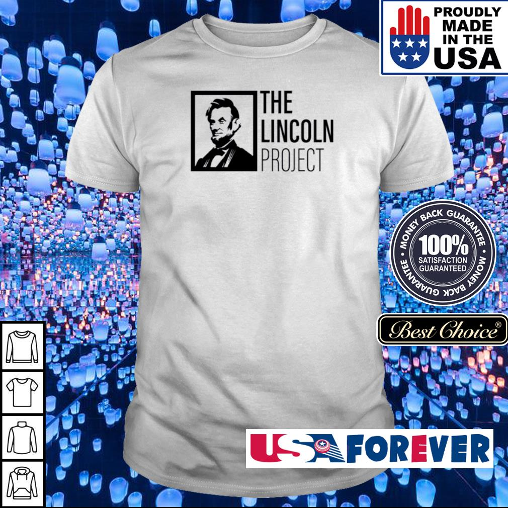 The Lincoln Project shirt