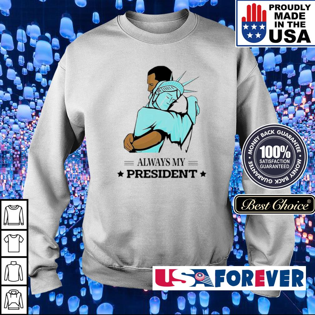 The Statue of Liberty and Obama always my president s sweater