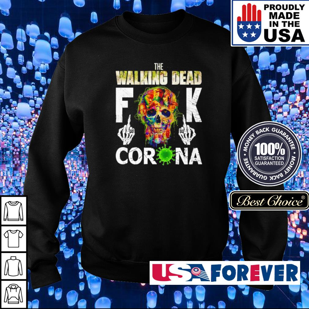 The Walking Dead fuck corona s sweater