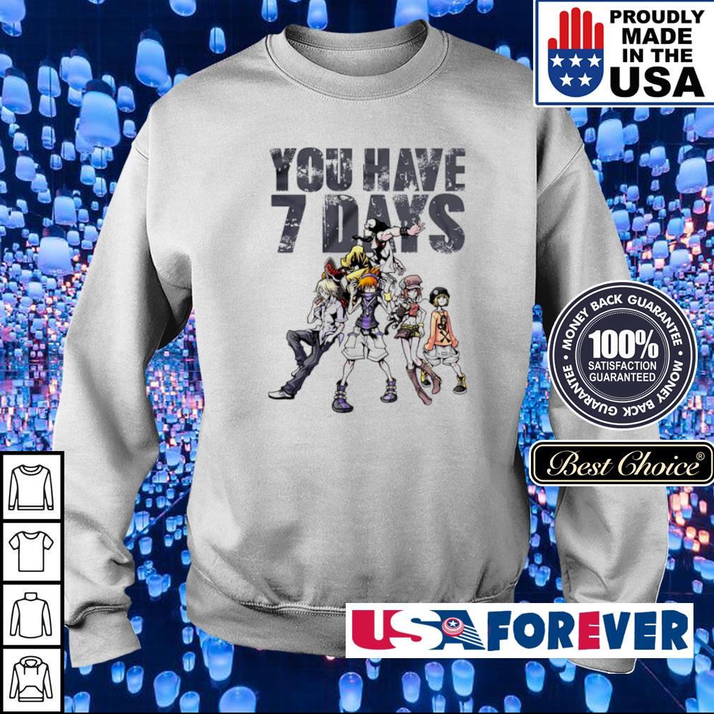 The World Ends With You you have 7 days s sweater