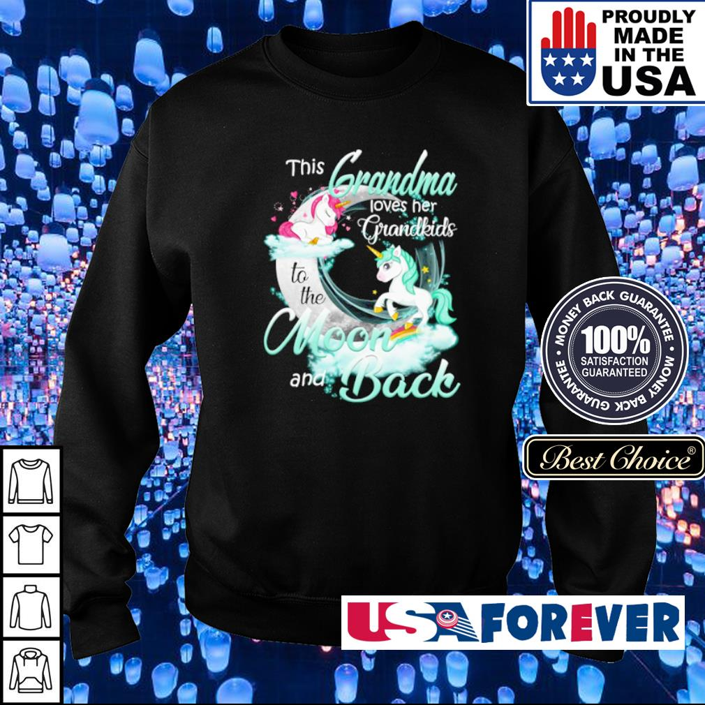 This grandma loves her grandkinds to the moon and back s sweater