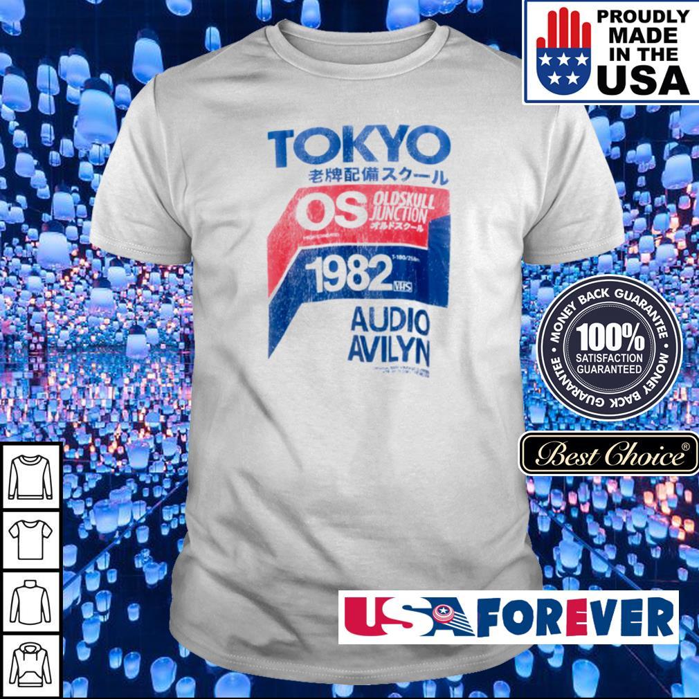Tokyo Oldskull Junction 1982 Audio Avilyn shirt