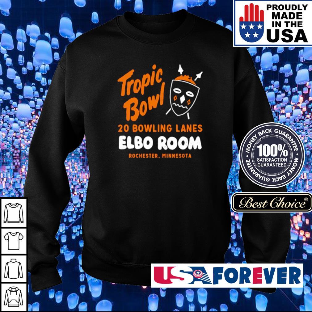 Tropic Bowl 20 bowling lans Elbo Room Rochester Minnesota s sweater
