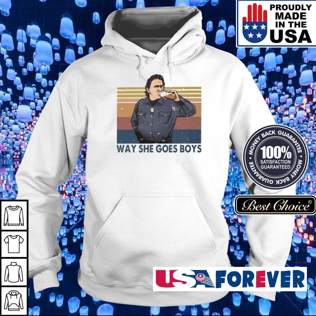 Way she goes boys vintage s hoodie