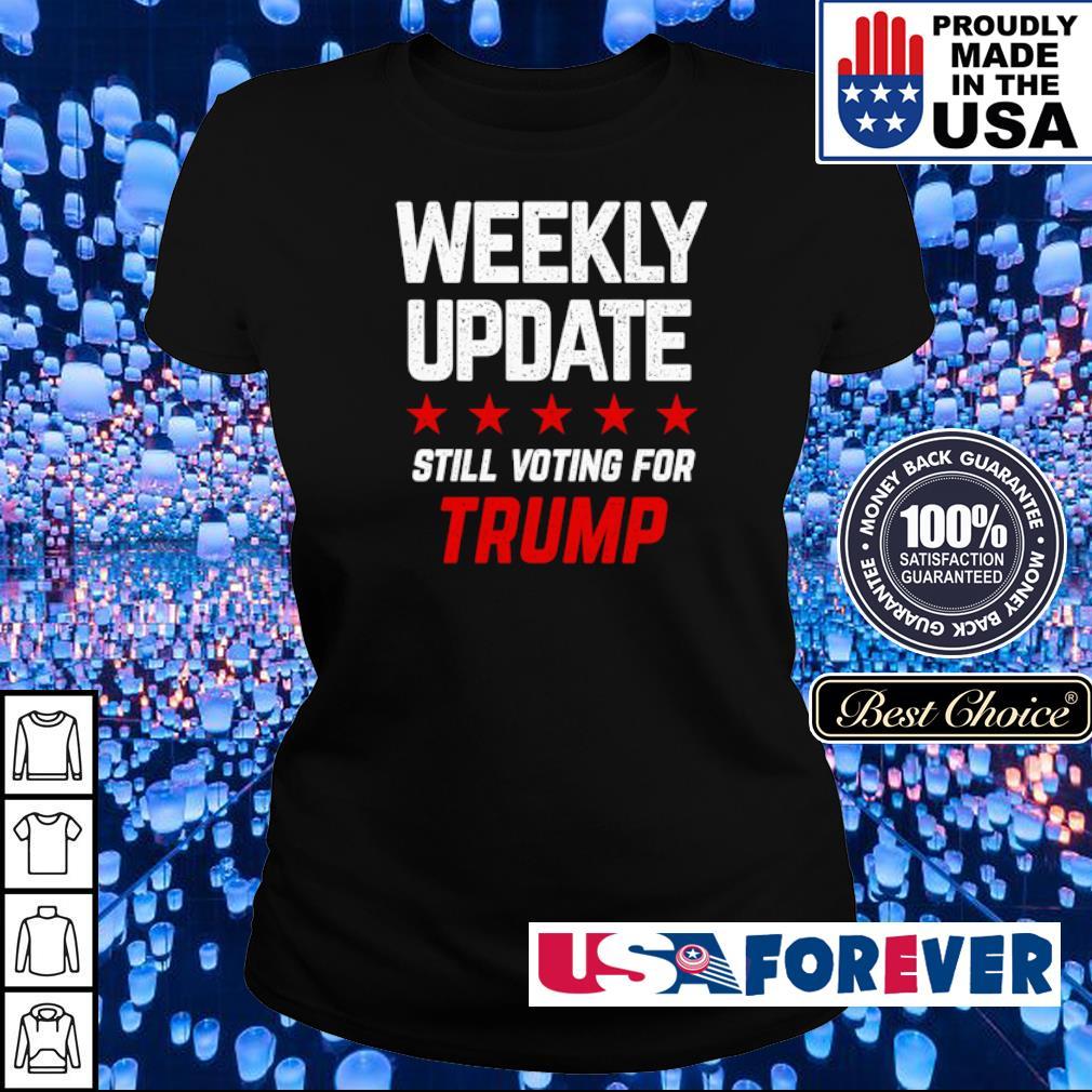 Weekly update still voting for Trump s ladies