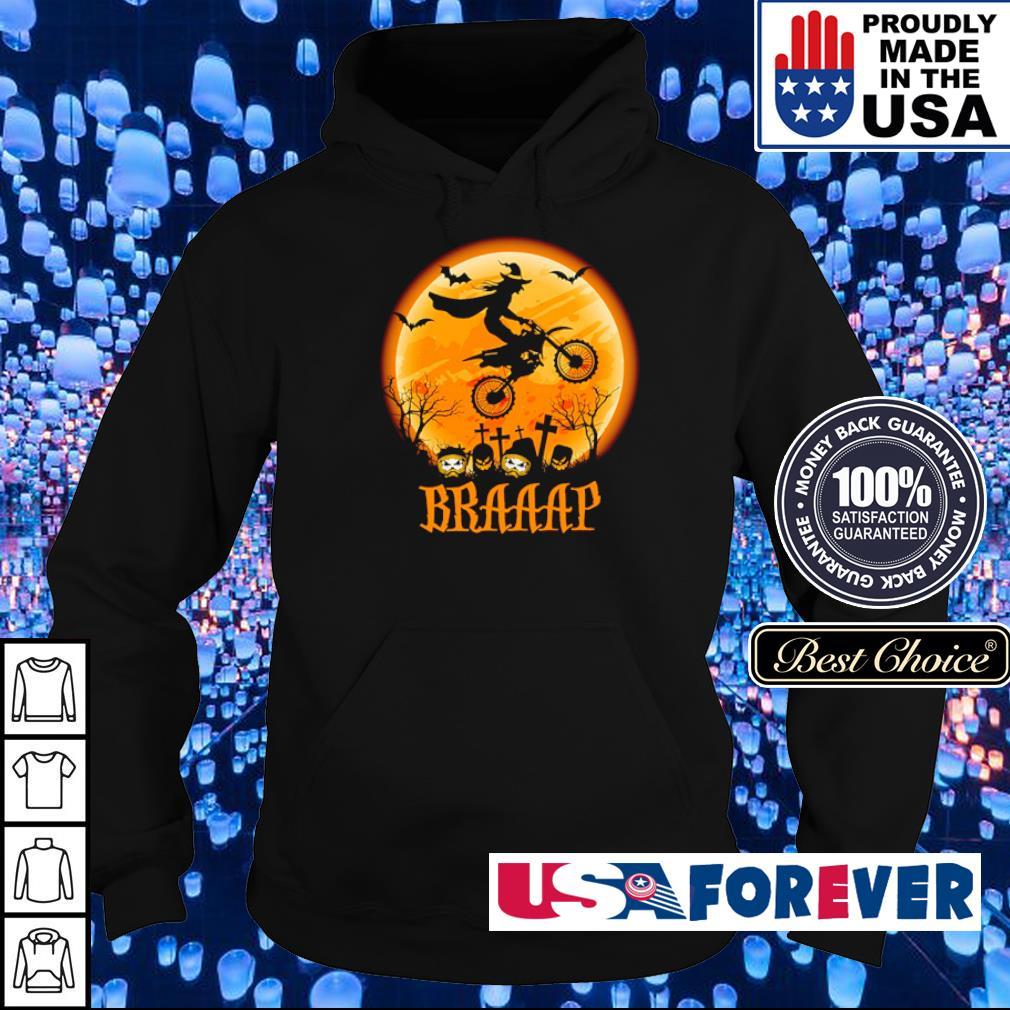 Witch riding motorsport braaap s hoodie