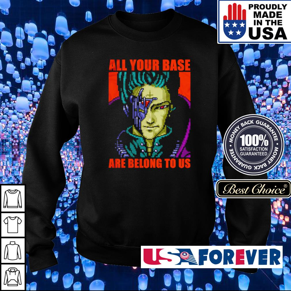 Zero Wing all your base are belong to us s sweater