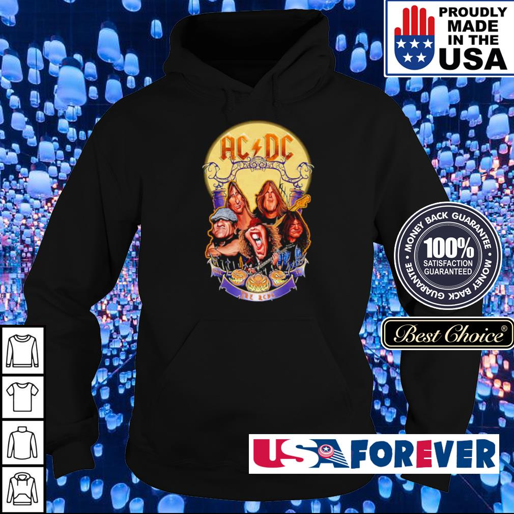 AC DC Heavy Metal Music Band band hail the AC DC to Halloween s hoodie