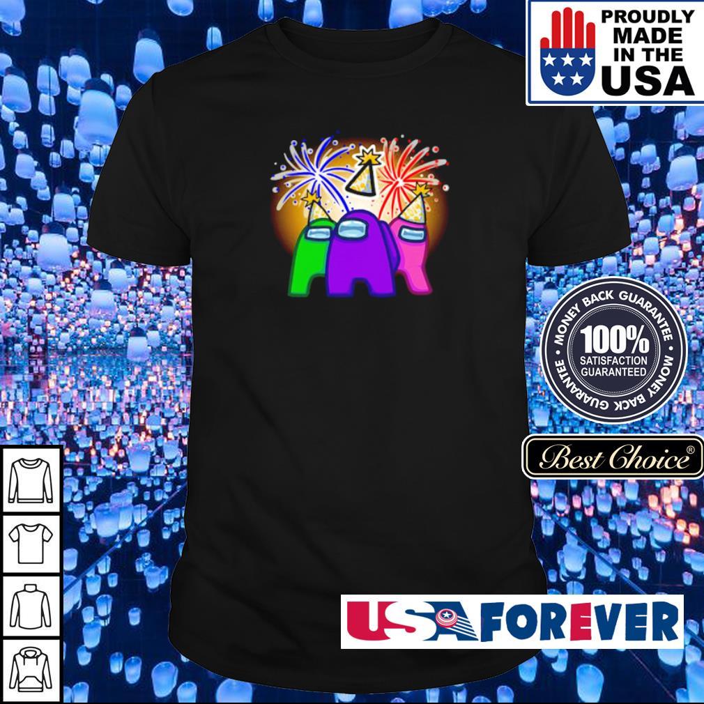Among Us character party winning shirt