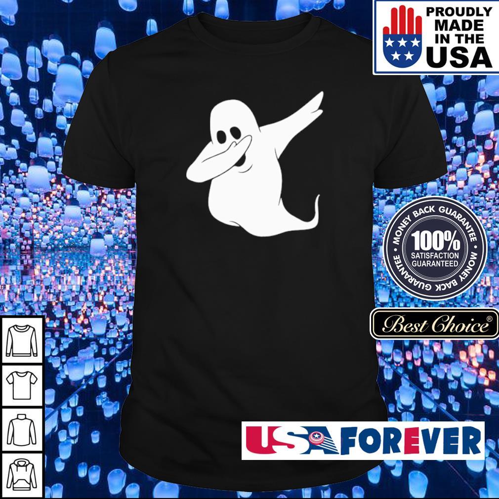 Dabbing ghost happy Halloween shirt