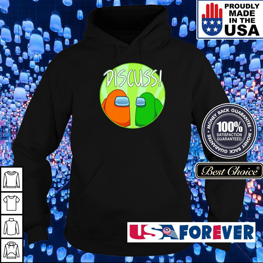 Game Among Us game player discuss s hoodie