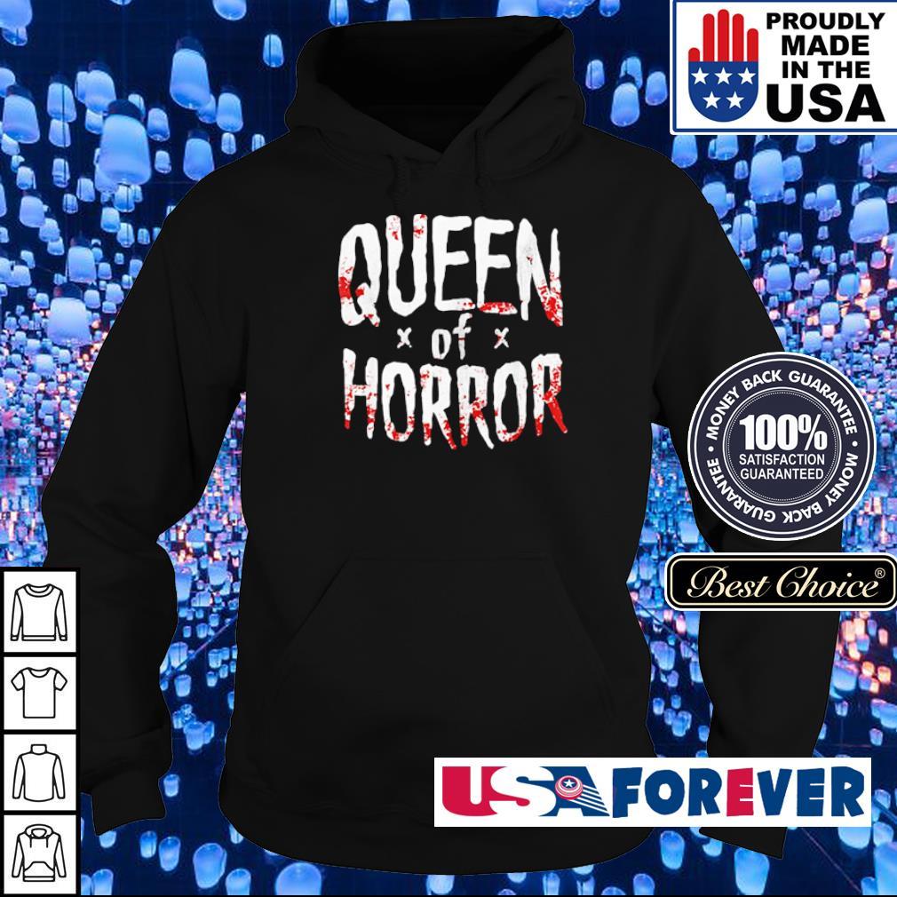 Halloween queen of horror s hoodie