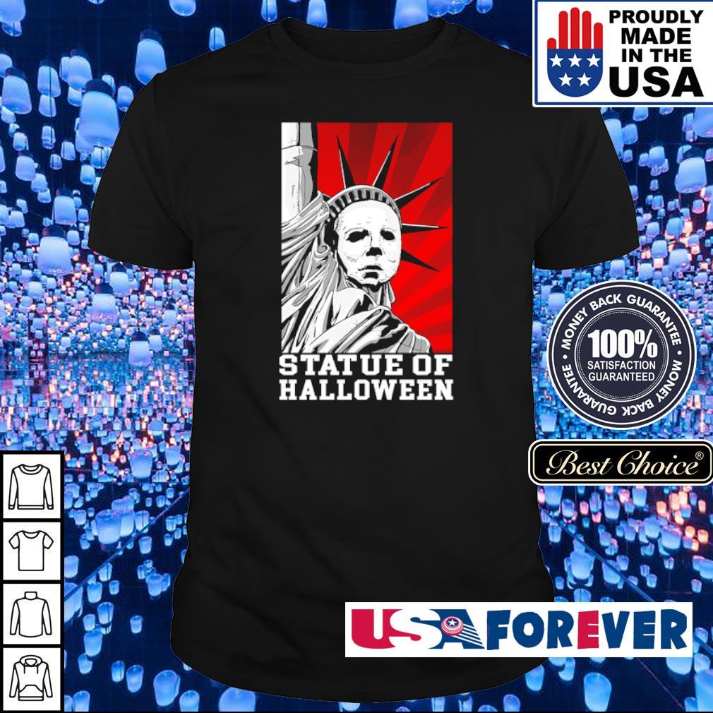 Horror movie Michael Myers statue of Halloween shirt