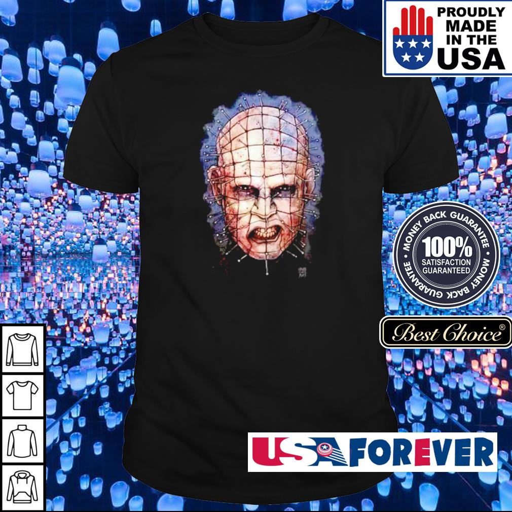 Horror movie Pinhead Hellraiser happy Halloween shirt