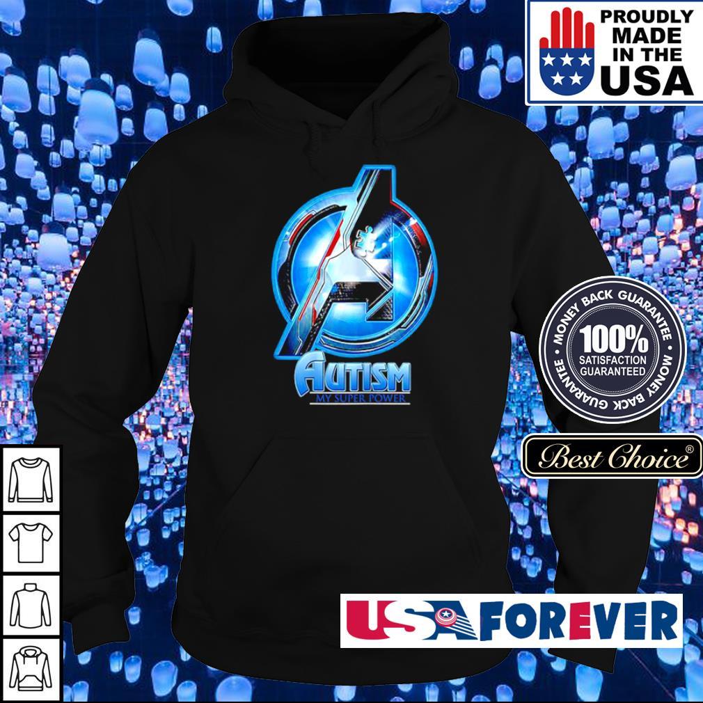 Marvel Studio The Avengers autism awareness my super power s hoodie