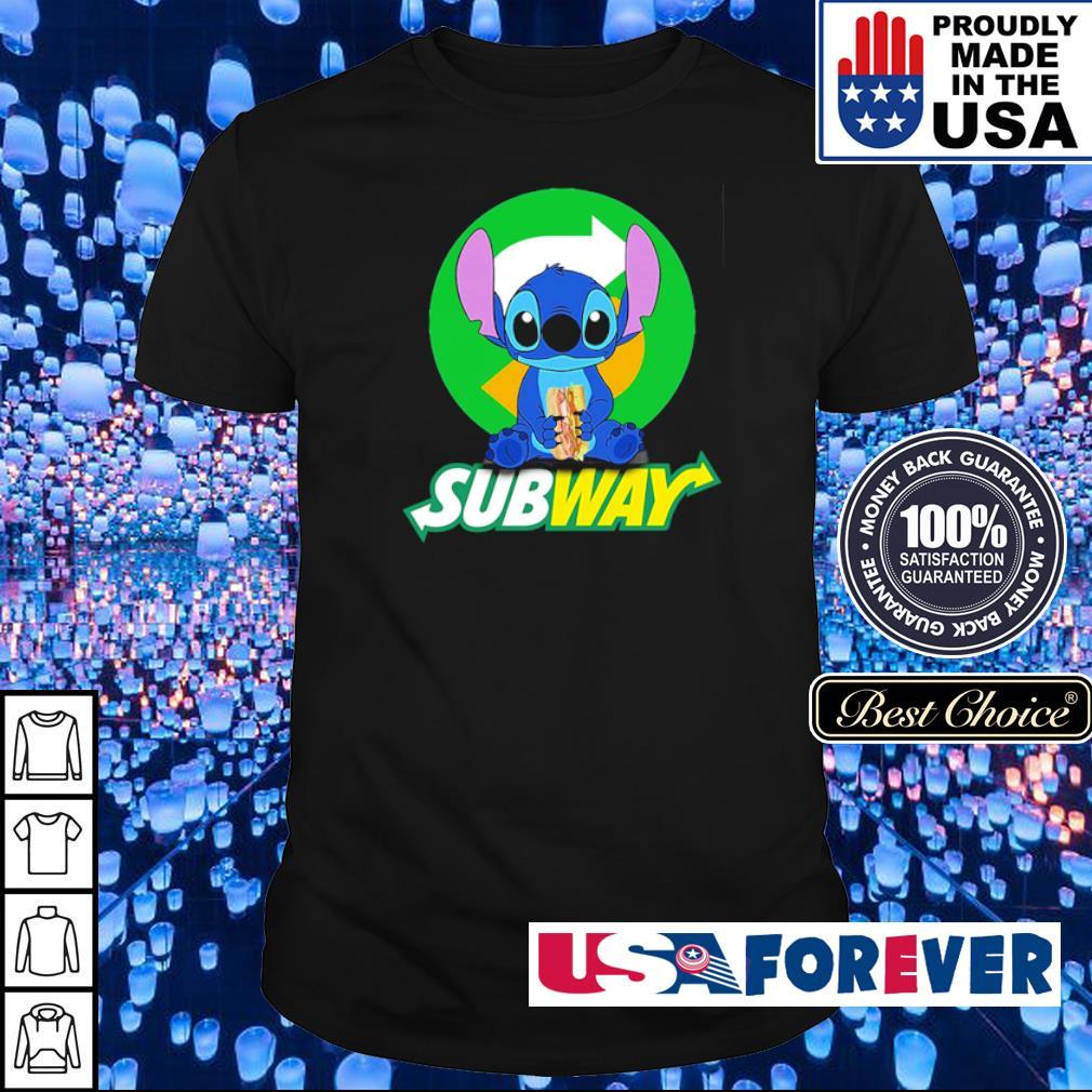 Stitch love SubWay shirt