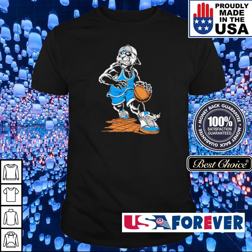 The best wolf basketball player shirt