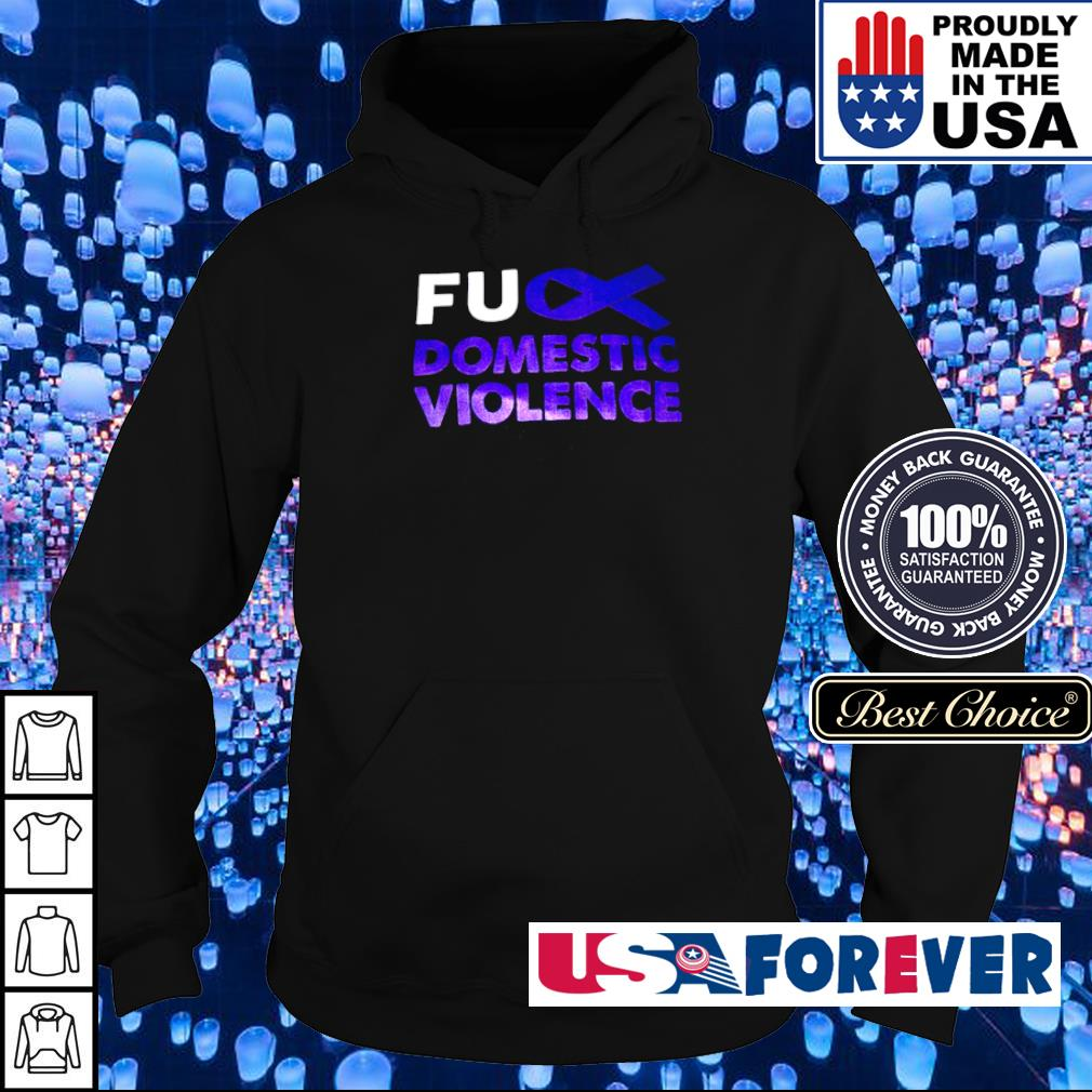 Autism awareness fuck domistic violence s hoodie