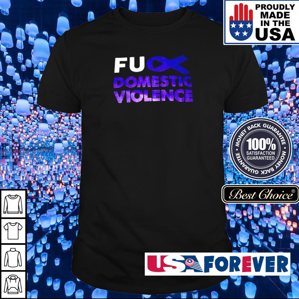 Autism awareness fuck domistic violence shirt
