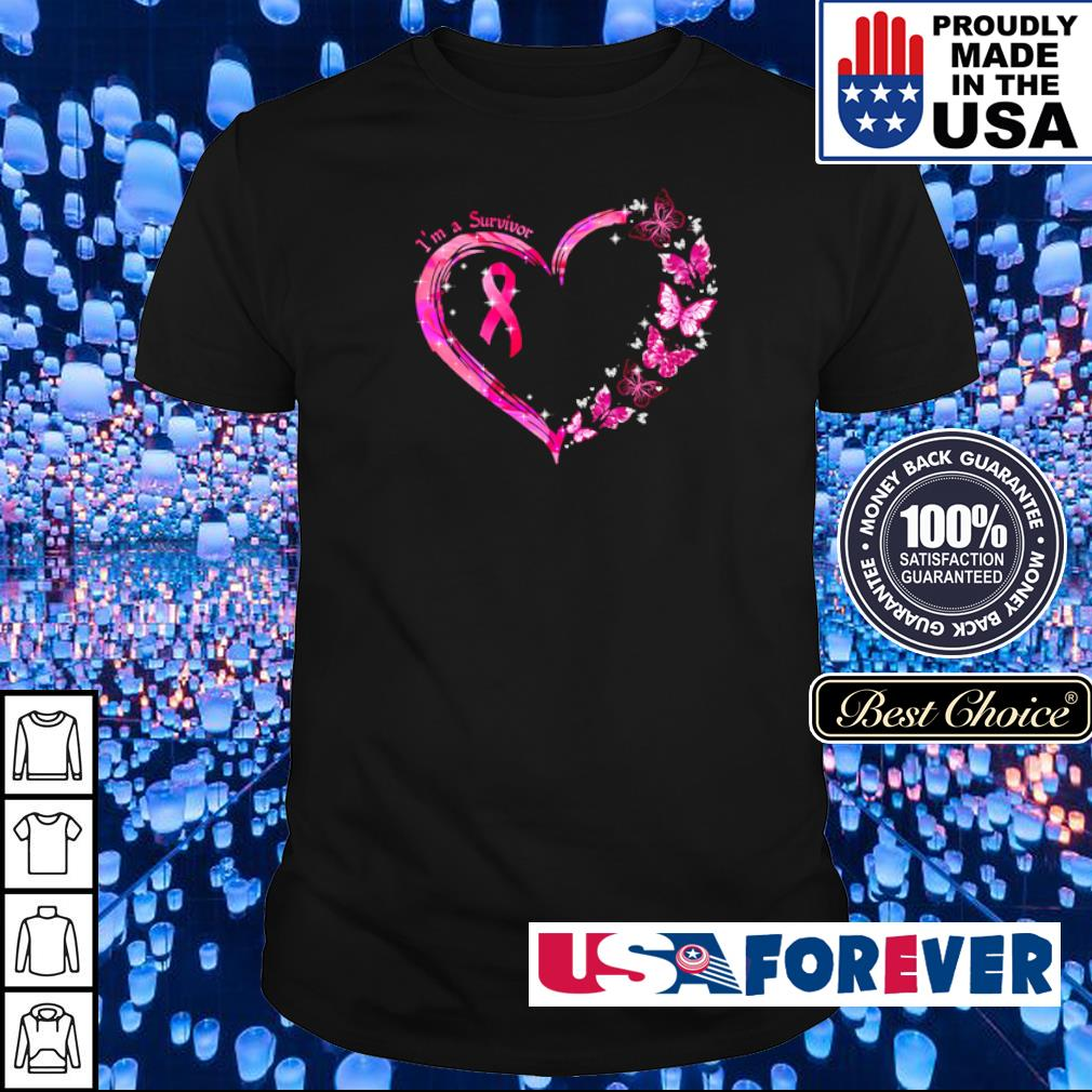 Autism awareness I'm a survivor love shirt