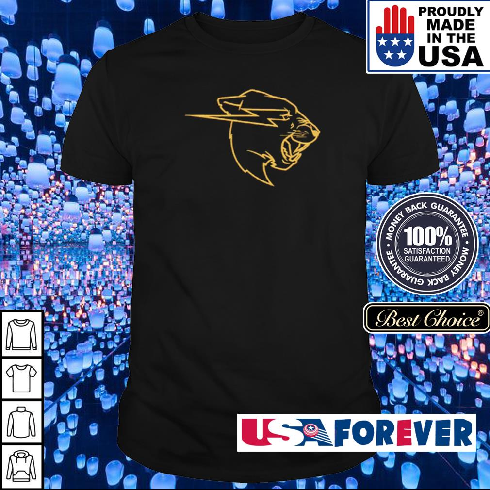 Awesome Gold Beast logo shirt