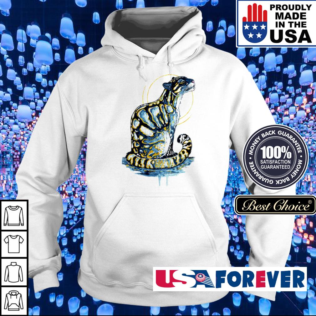 Awesome golden clouded leopard s hoodie